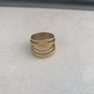 Stacked ring